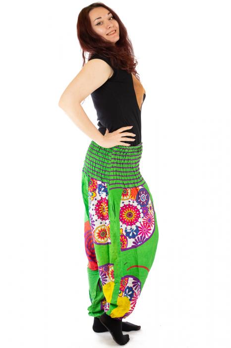 Salvari femei verzi cu spirala 2