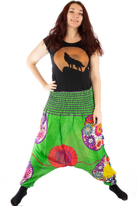 Salvari femei verzi cu spirala 1