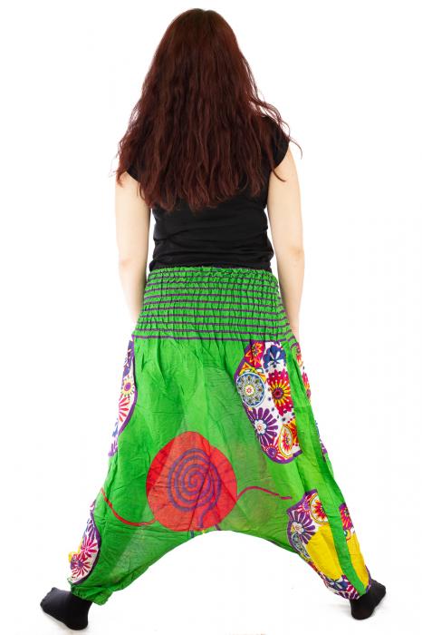 Salvari femei verzi cu spirala 4