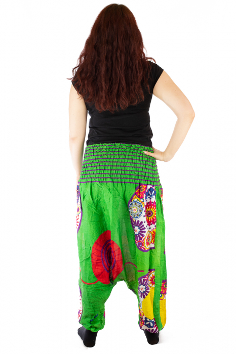 Salvari femei verzi cu spirala 3