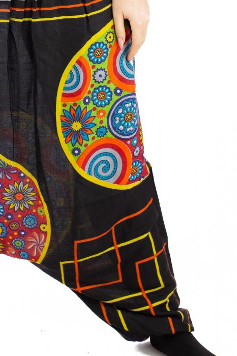 Salvari pentru femei cu banda multicolora lata 6