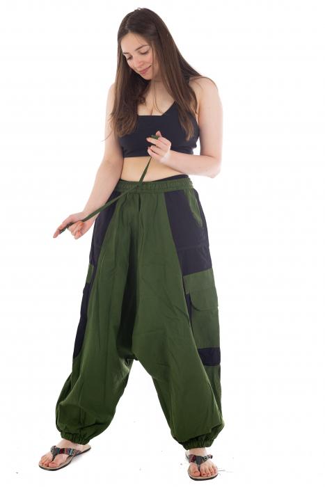 Salvari - Verde cu negru [1]