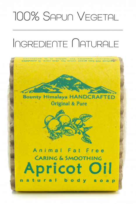 Sapun Handmade Vegetal - Apricot Oil [0]
