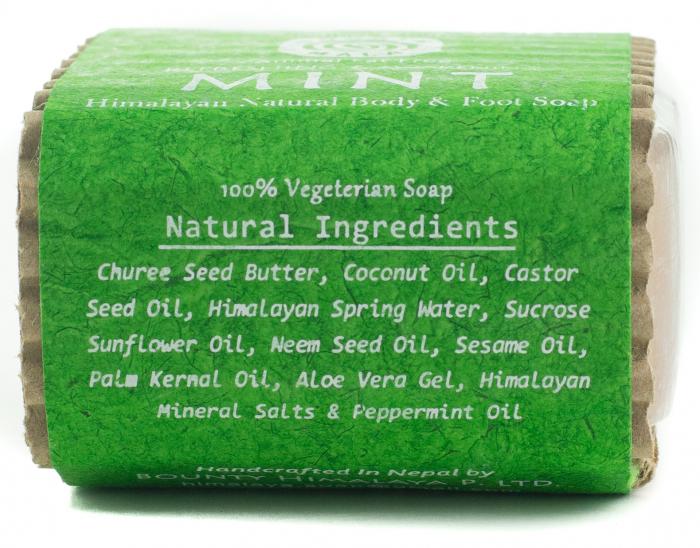 Sapun Handmade Vegetal - Mint [2]
