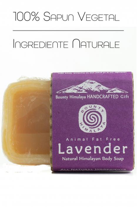 Sapun Handmade Vegetal - Lavender [1]