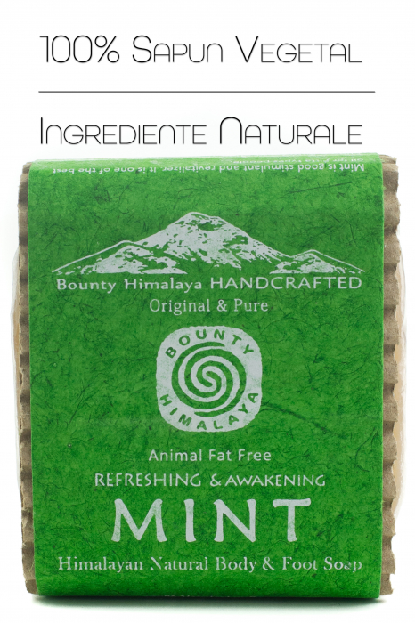 Sapun Handmade Vegetal - Mint [0]