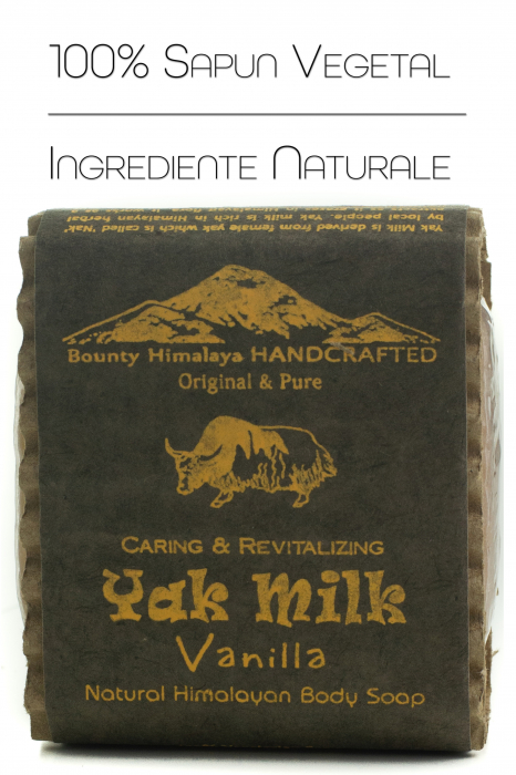 Sapun Handmade Vegetal - Yak Milk - Vanilla [0]