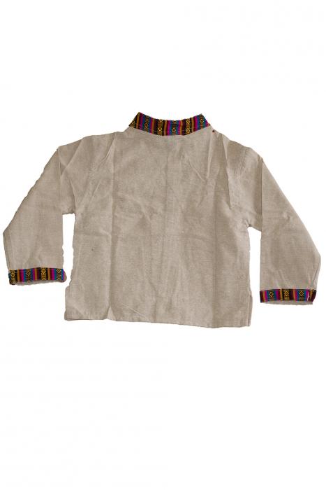 Set salvari si bluza pentru copii - Crem 1
