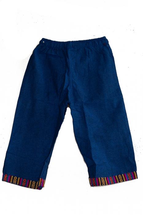 Set salvari si bluza pentru copii - Bleumarin 4
