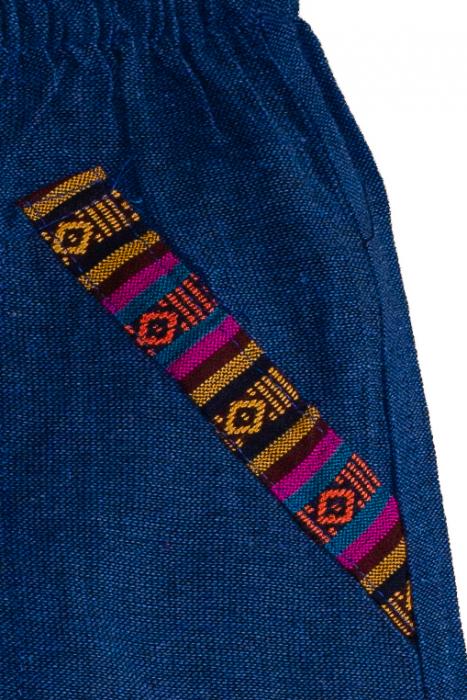 Set salvari si bluza pentru copii - Bleumarin 5