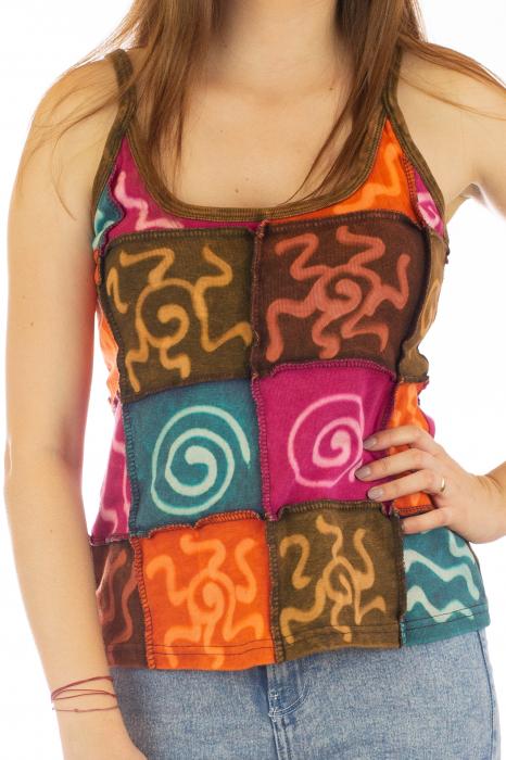 Maiou Tie Dye - Multicolor - Model 1 1
