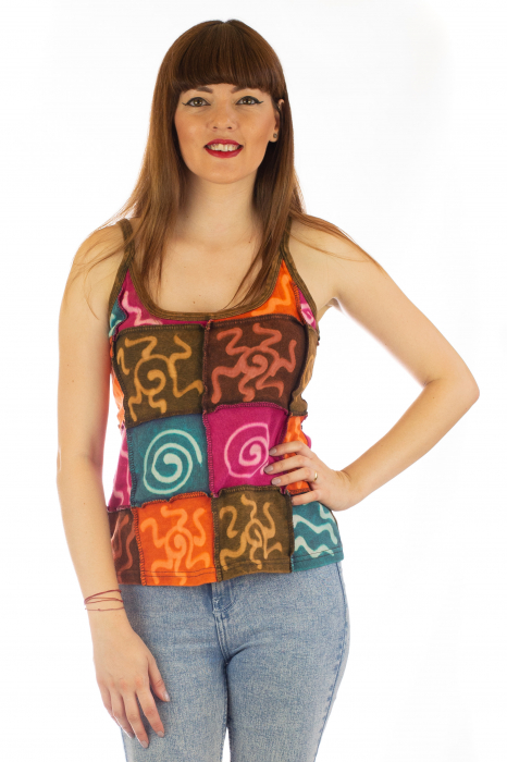 Maiou Tie Dye - Multicolor - Model 1 0