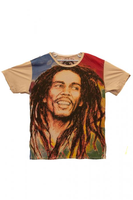 Tricou Bob Marley - Hope - Crem - Diverse Marimi [0]