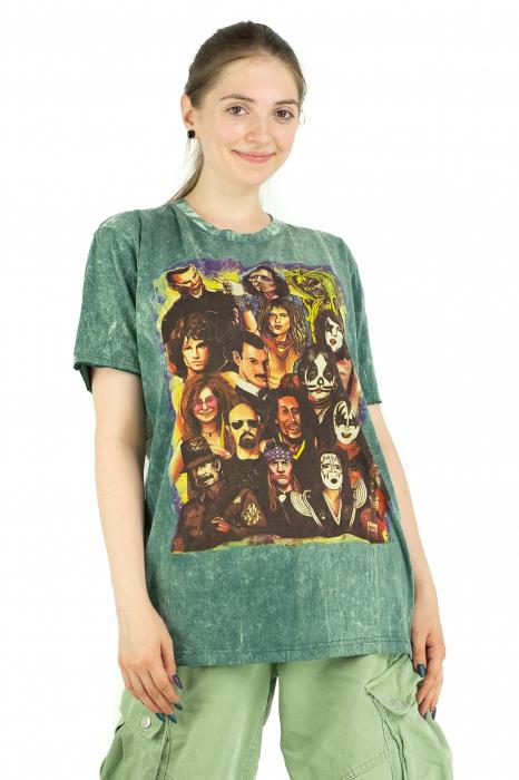 Tricou colorat - Marime M, L si XL -Model 23 [1]