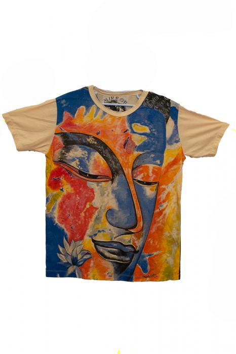 Tricou Face of Color - Crem - Marimea M [0]