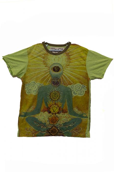 Tricou Chakra Gates - Verde - Diverse Marimi [1]