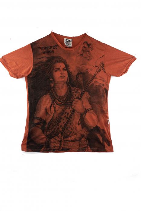Tricou hippie - Shiva - marime M 0