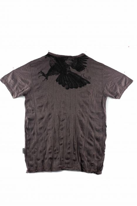 Tricou hippie - Eagle - Marime L 1