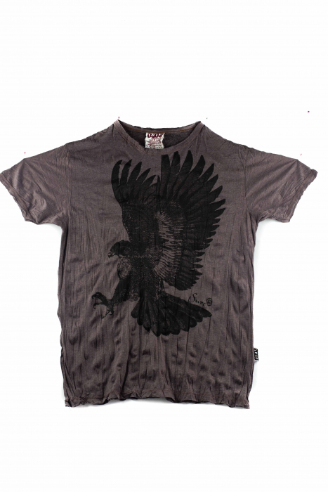 Tricou hippie - Eagle - Marime L 0