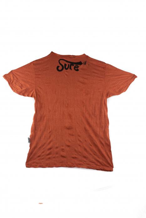 Tricou hippie - Lotus Flower - Orange - marime M 1