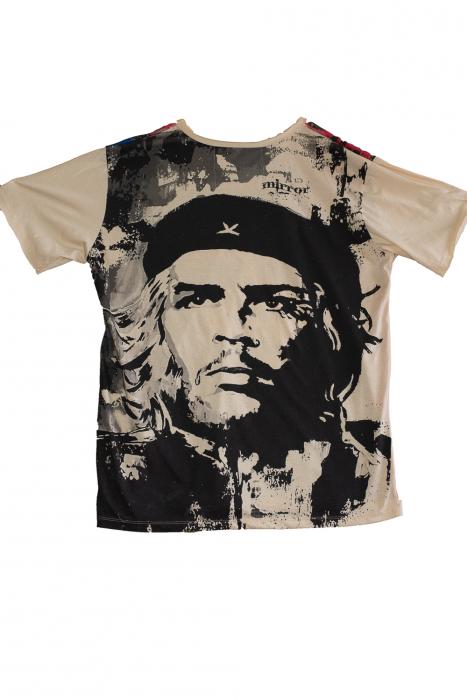 Tricou Hippie Revolution -Crem - Marime XL 1