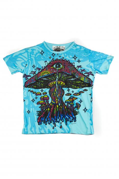 Tricou Mushroom - Albastru - Marime M [0]