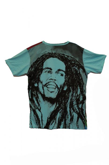 Tricou Bob Marley - Hope - Turcoaz - Marimea M [0]