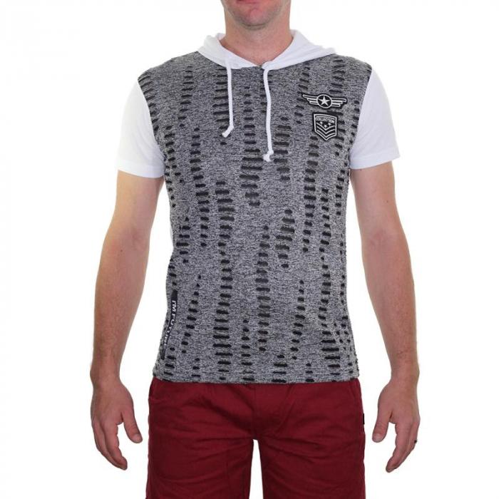 Tricou Streetwear 5M-2141 ALB 0