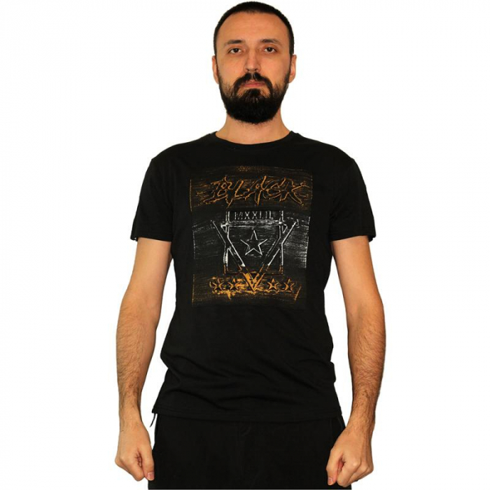 Tricou Streetwear 5M-2232 NEGRU 0