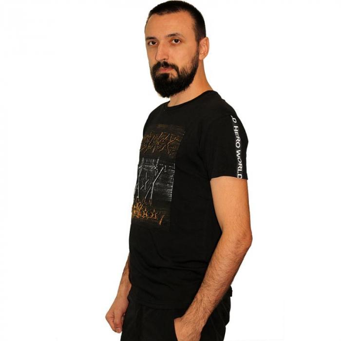 Tricou Streetwear 5M-2232 NEGRU 2