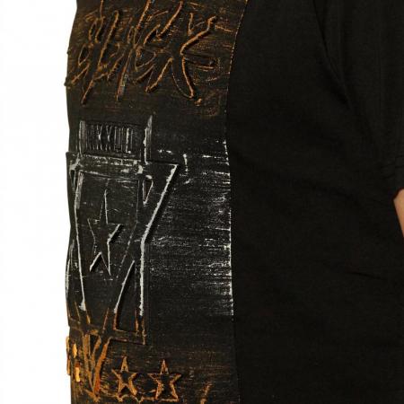 Tricou Streetwear 5M-2232 NEGRU [2]