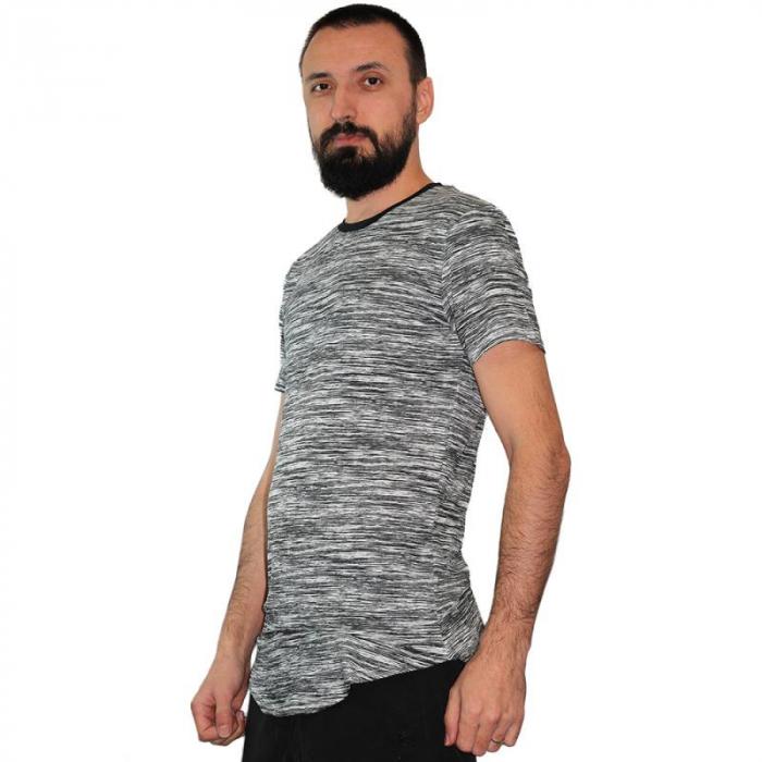 Tricou Streetwear HM-5496 White 1
