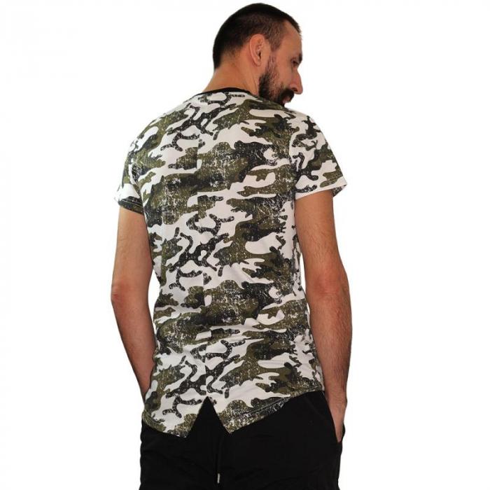 Tricou Streetwear HM-5790 GRAY 2