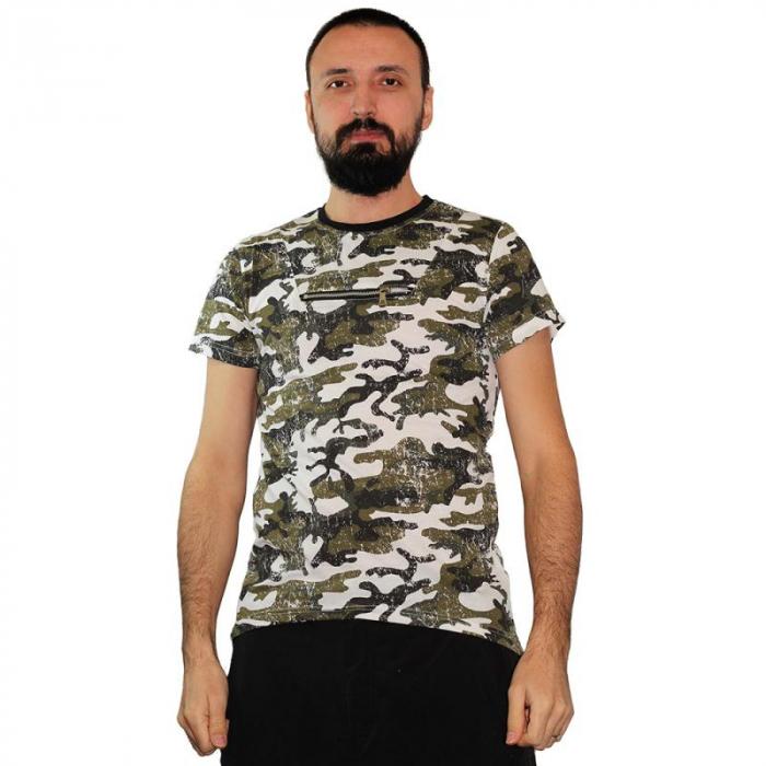 Tricou Streetwear HM-5790 GRAY 0