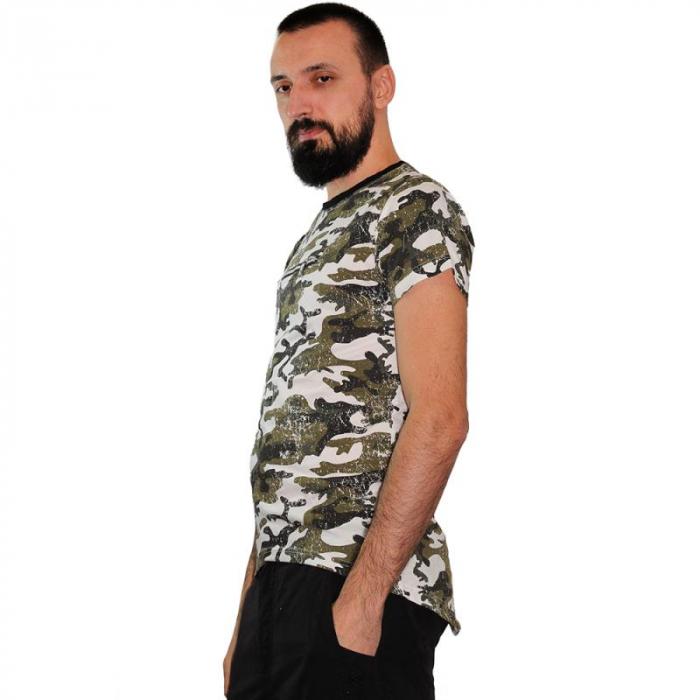 Tricou Streetwear HM-5790 GRAY 1
