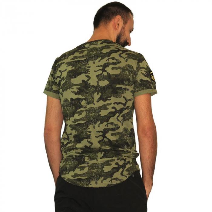 Tricou Streetwear HM-5792 GREEN 3
