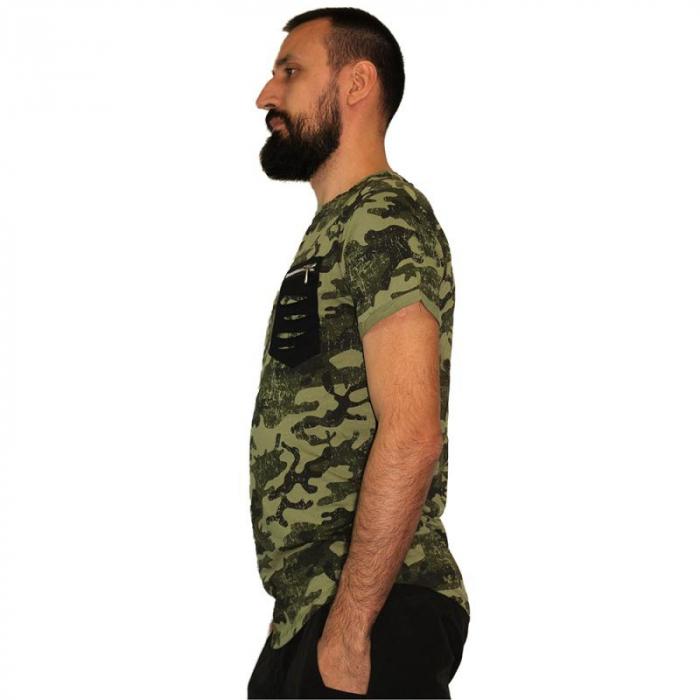 Tricou Streetwear HM-5792 GREEN 2