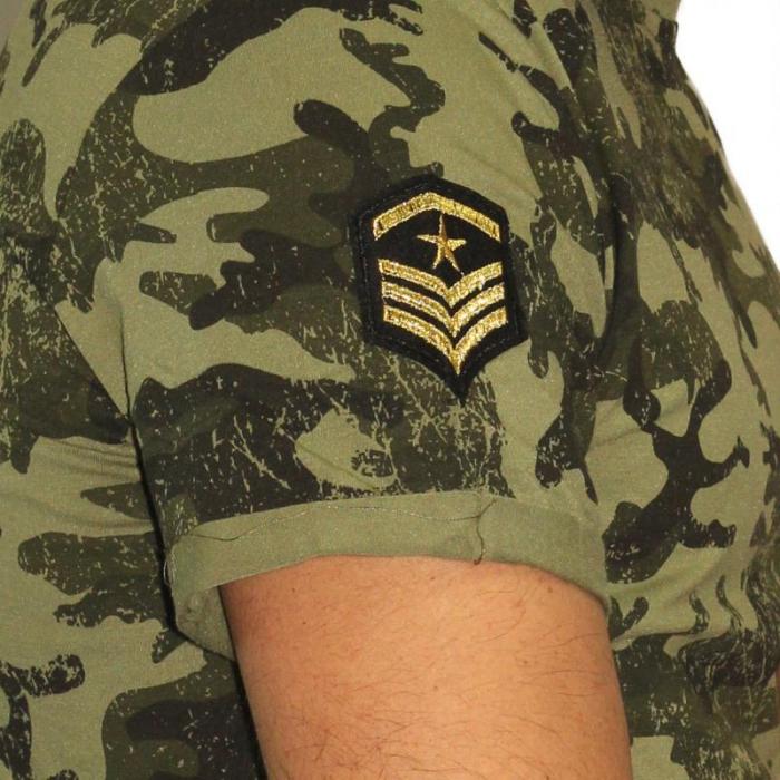 Tricou Streetwear HM-5792 GREEN 1