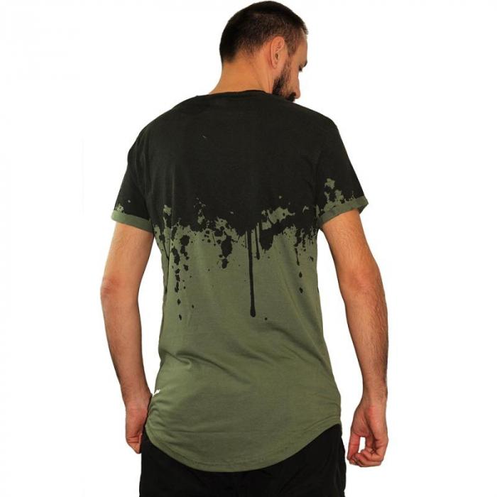 Tricou Streetwear HM-5862 Green 3