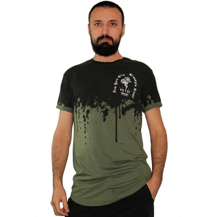 Tricou Streetwear HM-5862 Green 0
