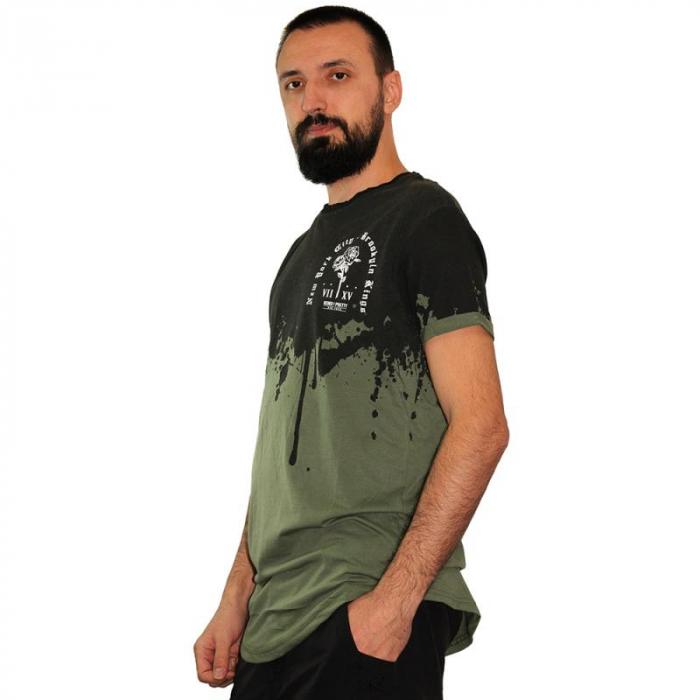 Tricou Streetwear HM-5862 Green 2
