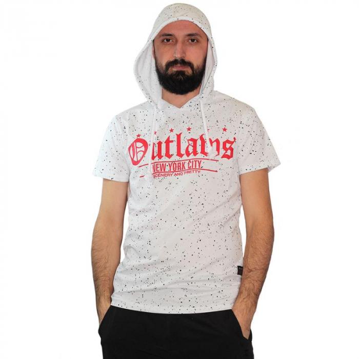 Tricou Streetwear HM-5917 White 0