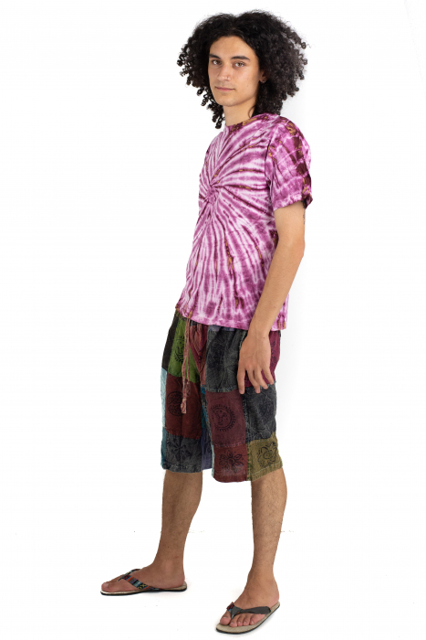Tricou Tie-Dye - Roz - Model 10 [2]