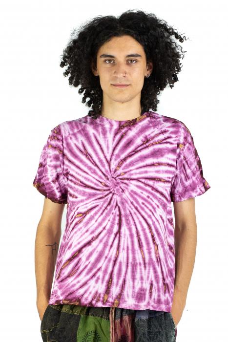 Tricou Tie-Dye - Roz - Model 10 [1]