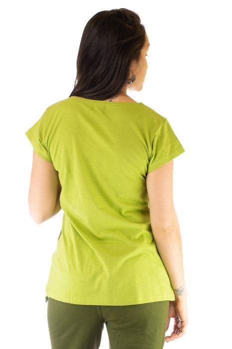 Tricou femei - Mandale verzi 2