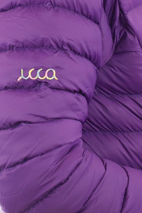Jacheta scurta cu puf - Violet 2
