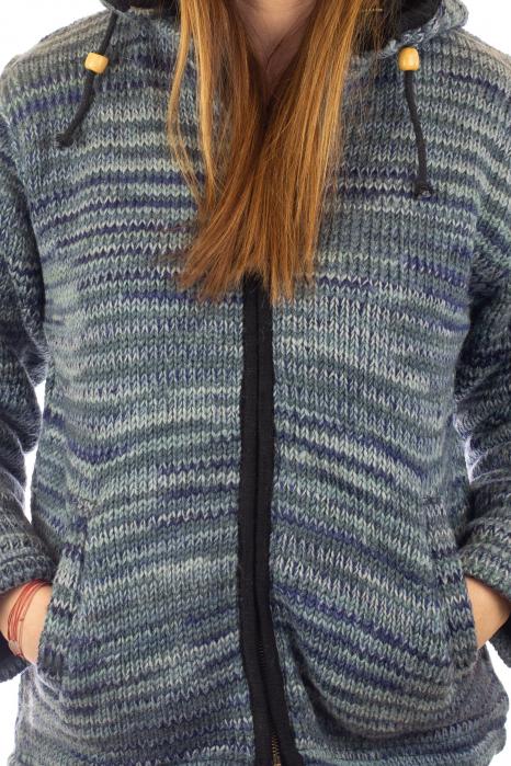 Jacheta de lana - Water Line 1
