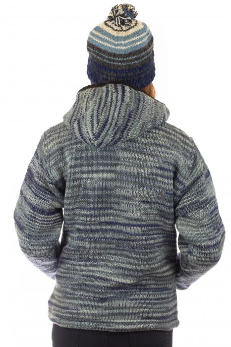 Jacheta de lana - Water Line 4