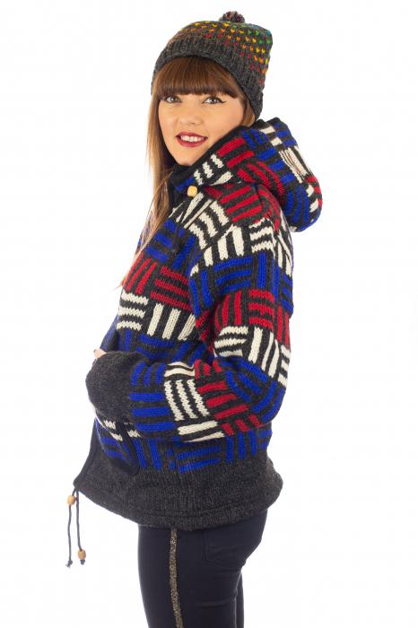 Jacheta de lana - Winter Maze [2]