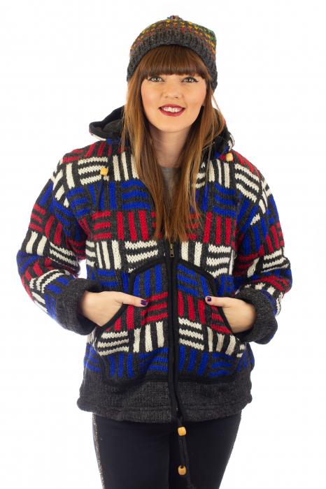 Jacheta de lana - Winter Maze [0]